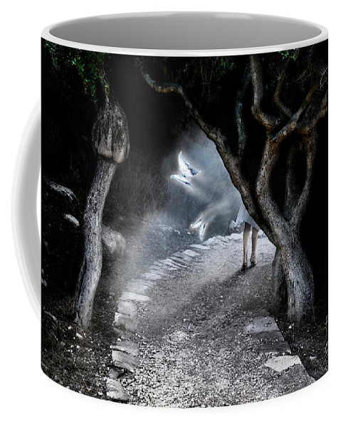 Fairy Coffee Mug featuring the photograph Alice In Wonderland by Oleksiy Maksymenko