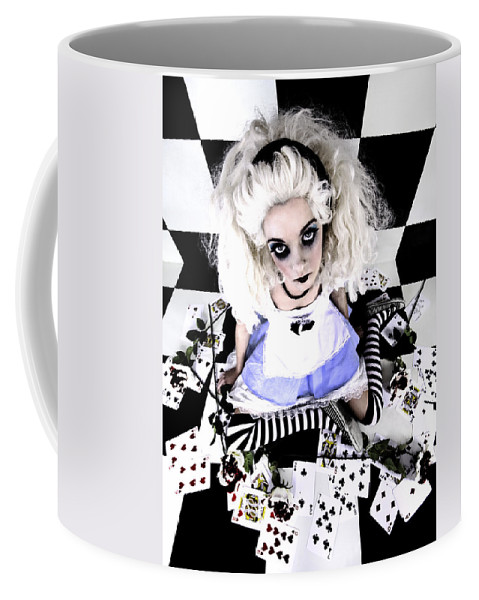 Alice In Wonderland Coffee Mug featuring the photograph Alice1 by Kelly Jade King