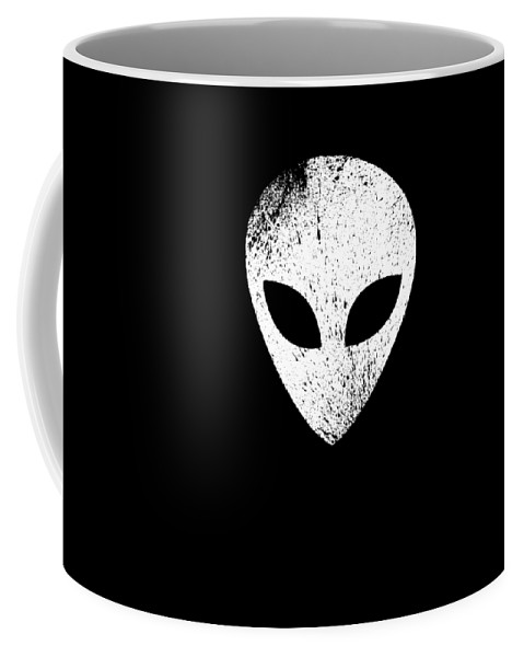 Abduct Coffee Mug featuring the digital art Alien Ufo Science Gift by Michael S