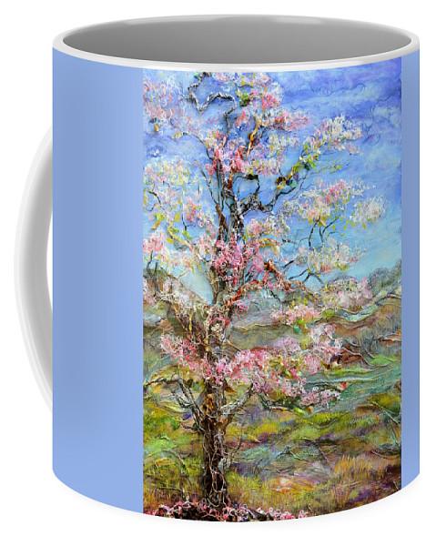 Tree Coffee Mug featuring the painting Alive by Regina Valluzzi