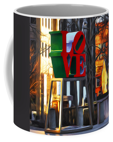 All Coffee Mug featuring the photograph All About Love by Bill Cannon