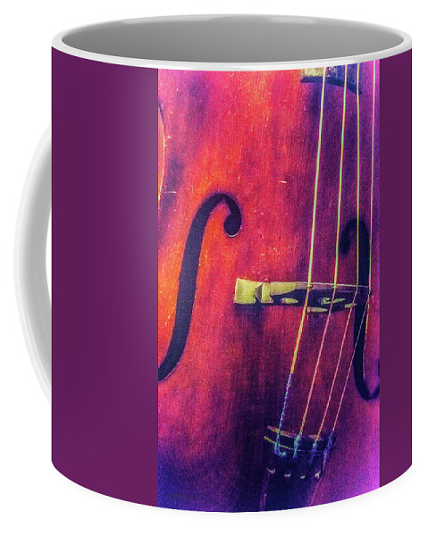 Music Coffee Mug featuring the photograph All About The Bass by Pamela Williams