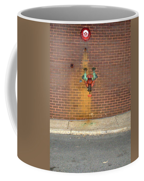 Photograph Coffee Mug featuring the photograph All Alone Pipe by Thomas Valentine
