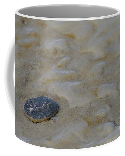 Beach Coffee Mug featuring the photograph All Alone by Rick Monyahan