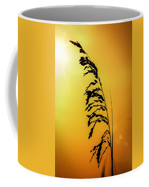 Perdido Key Coffee Mug featuring the photograph All By Myself by Gary Oliver