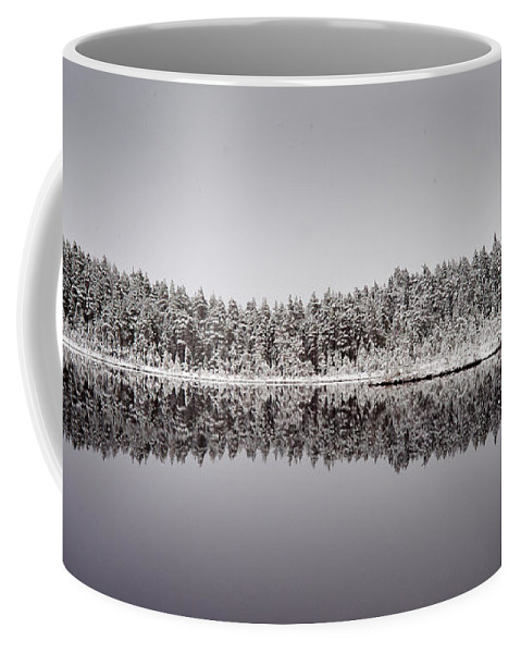 Finland Coffee Mug featuring the photograph All Colors Of Gray. Panorama by Jouko Lehto