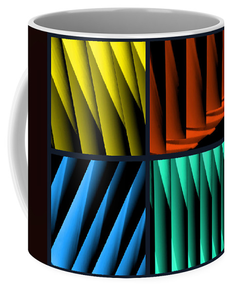 Quadruple Coffee Mug featuring the photograph All For One by Susanne Van Hulst