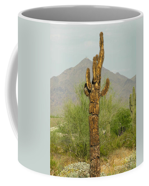 Cacuts Coffee Mug featuring the photograph All I Needed Was A Single Drop Of Water by Diane Greco-Lesser
