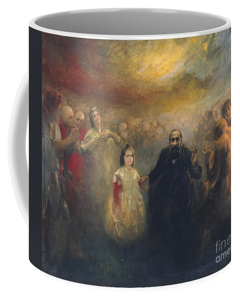Aleix Clapes Coffee Mug featuring the painting Allegory Of Doctor Robert by Celestial Images