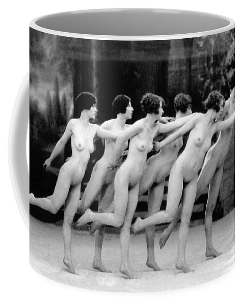 1920 Coffee Mug featuring the photograph Allen Chorus Line, 1920 - To License For Professional Use Visit Granger.com by Granger