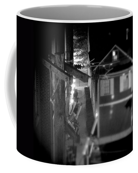 Alley Coffee Mug featuring the photograph Alley To High by Jean Macaluso