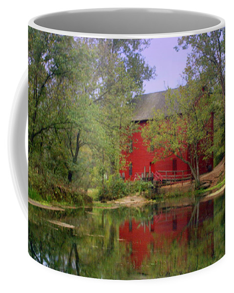 Alley Spring Coffee Mug featuring the photograph Allsy Sprng Mill 2 by Marty Koch