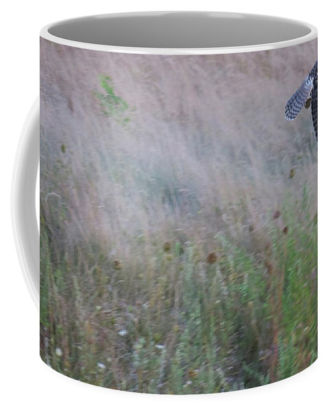 Wildlife Coffee Mug featuring the photograph Almost Got Away by Ronald Raymond