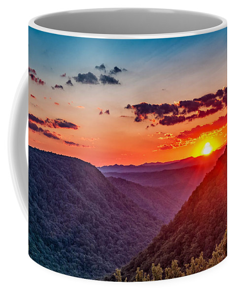Babcock State Park Coffee Mug featuring the photograph Almost Heaven - West Virginia by Steve Harrington