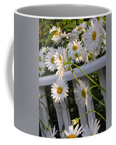 Dasiy's Coffee Mug featuring the photograph Almost Out by Diane Greco-Lesser