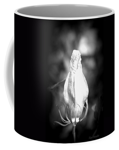 Flower Coffee Mug featuring the photograph Almost Time by Tina Meador
