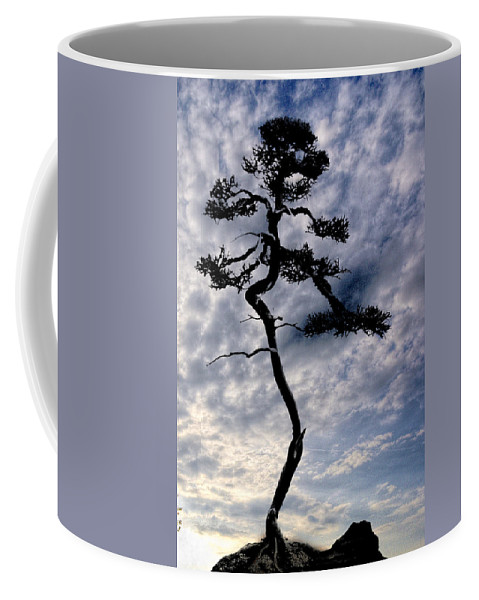 Nature Coffee Mug featuring the photograph Alone by Ches Black