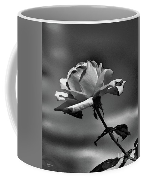 Alone I Stand Coffee Mug featuring the photograph Alone I Stand by Wanda-Lynn Searles