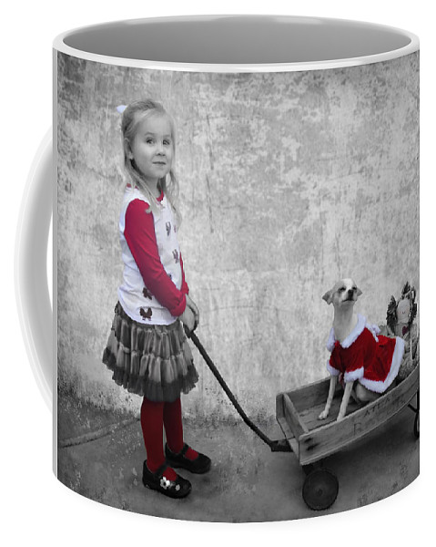 Coffee Mug featuring the photograph Along For The Ride by Jean Hildebrant