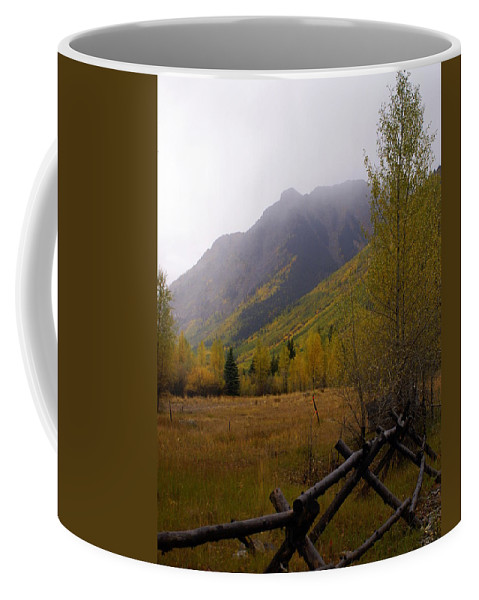 Colorado Coffee Mug featuring the photograph Along The Alpine Loop by Marty Koch
