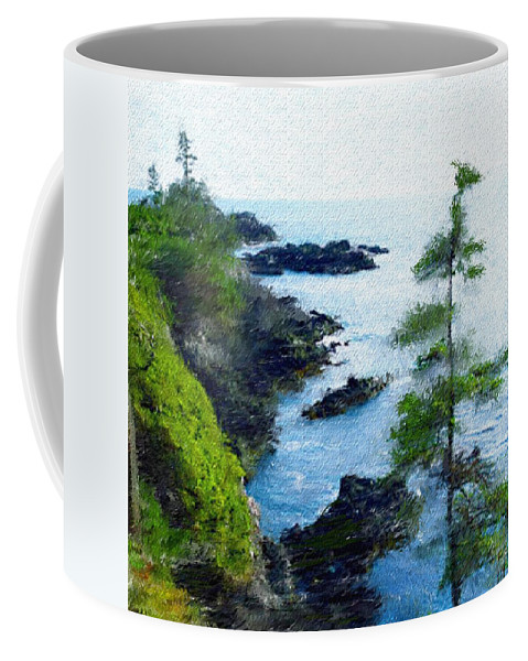 Digital Photograph Coffee Mug featuring the photograph Along The West Coast 1 by David Lane