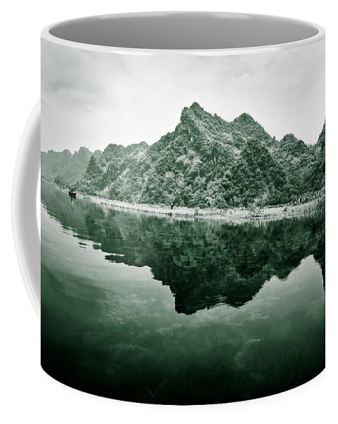 Yen Coffee Mug featuring the photograph Along The Yen River by Dave Bowman