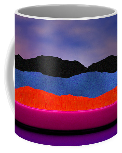 Abstract Coffee Mug featuring the photograph Alpenglow by Paul Wear