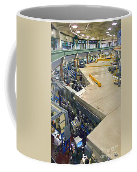 Science Coffee Mug featuring the photograph Als Beamlines And Inner Ring by Science Source