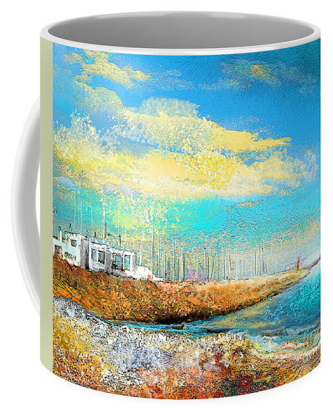 Altea Painting Coffee Mug featuring the painting Altea 04 by Miki De Goodaboom