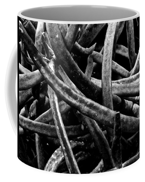 Black And White Photography Coffee Mug featuring the photograph Alternative Rumored Roads by Jacqueline Howe