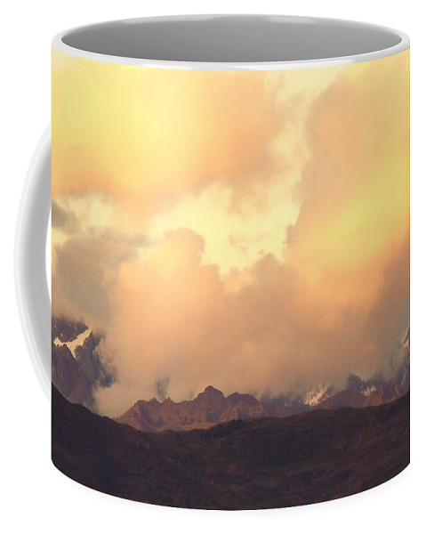 Andes Coffee Mug featuring the photograph Altiplano Glow Over Cuzco Cordillera by Anastasia Savage Ealy