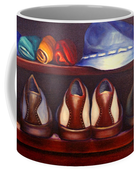 Golf Coffee Mug featuring the painting Always Options by Shannon Grissom