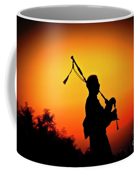 Sunset Coffee Mug featuring the photograph Amazing Grace by Jim Cazel