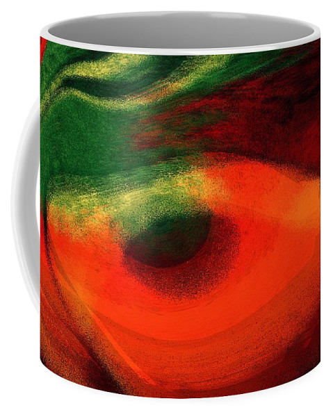 Color Coffee Mug featuring the digital art Ambrelia by Max Steinwald