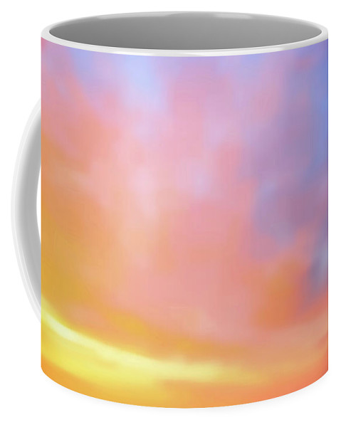 American Beach Cottage Art And Feelings Coffee Mug featuring the photograph American Beach Cottage Art And Feelings-6 by Paul Ranky