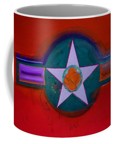 Star Coffee Mug featuring the painting American Chinoiserie by Charles Stuart