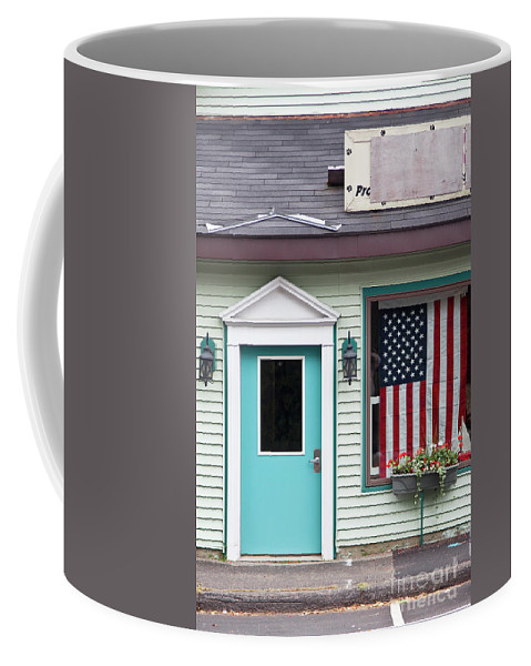 2011 Coffee Mug featuring the photograph American Curtain by Larry Braun