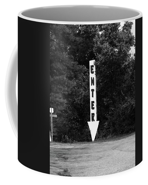 70 Coffee Mug featuring the photograph American Interstate - Missouri I-70 Bw by Frank Romeo