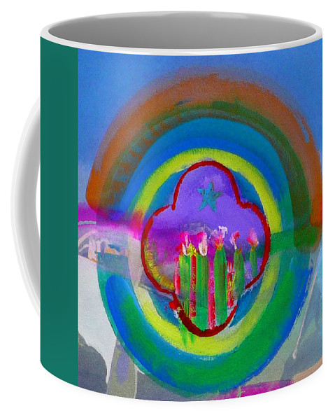 Love Coffee Mug featuring the painting American Spring by Charles Stuart