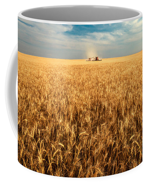 Two Coffee Mug featuring the photograph America's Breadbasket by Todd Klassy
