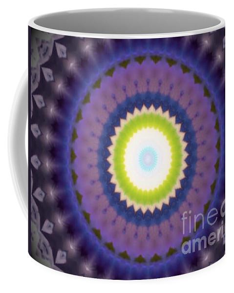Purple Coffee Mug featuring the digital art Amethyst by Vicki Lynn Sodora