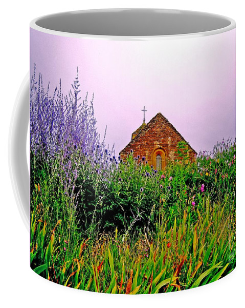 Chapel Coffee Mug featuring the photograph Ameugny 3 by Jeff Barrett
