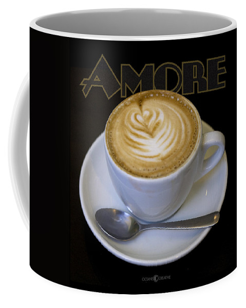 Coffee Coffee Mug featuring the photograph Amore Poster by Tim Nyberg
