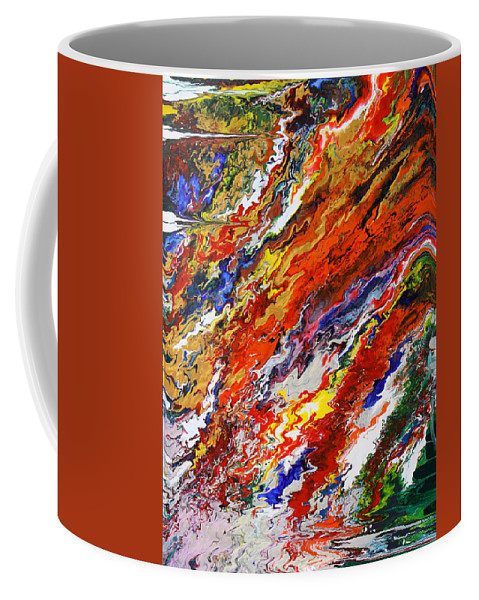 Fusionart Coffee Mug featuring the painting Amplify by Ralph White