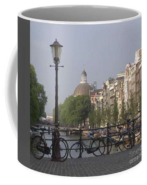 Amsterdam Coffee Mug featuring the photograph Amsterdam Bridge by Andy Smy