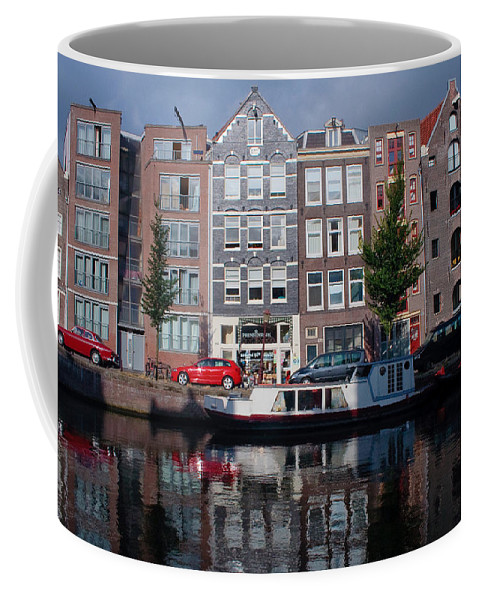Amsterdam Coffee Mug featuring the photograph Amsterdam Canal by Thomas Marchessault