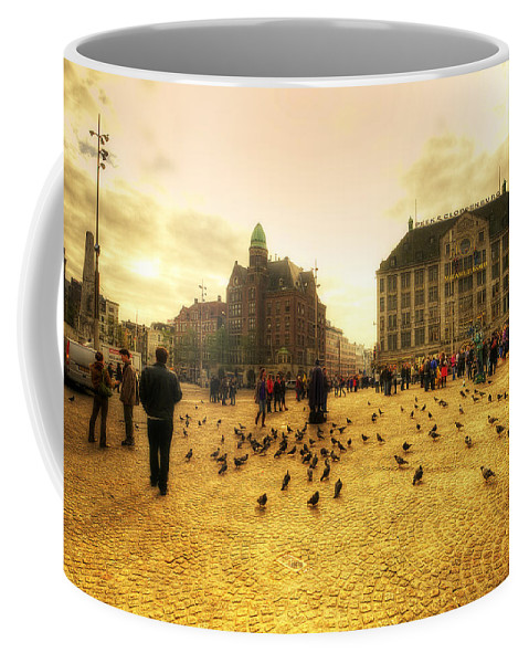 Amsterdam Coffee Mug featuring the photograph Amsterdam City by Svetlana Sewell