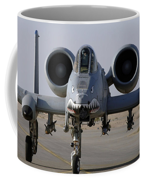 A-10 Coffee Mug featuring the photograph An A-10 Thunderbolt II by Stocktrek Images