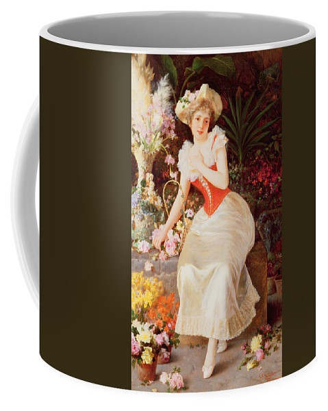 Array Coffee Mug featuring the painting An Array Of Beauty by Oreste Costa