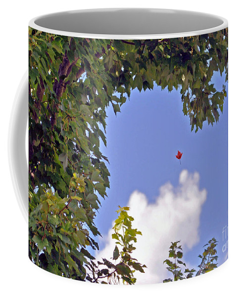 Autumn Coffee Mug featuring the photograph An Early Fall by Lydia Holly
